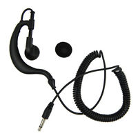 Listen Only Earpiece for Speaker Mic for any model radio with a 3.5mm mono jack