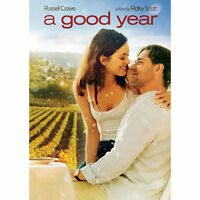 A Good Year (DVD, 2007, Full Frame) New