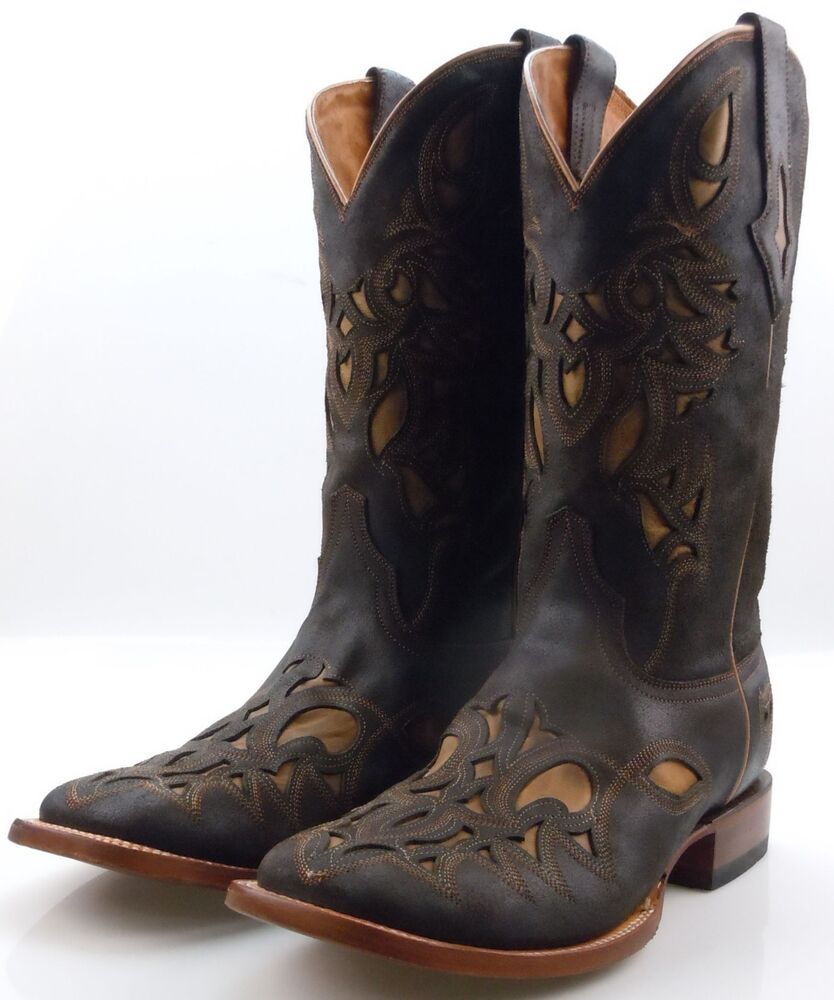 resistol by lucchese m4052 mens chocolate brown western