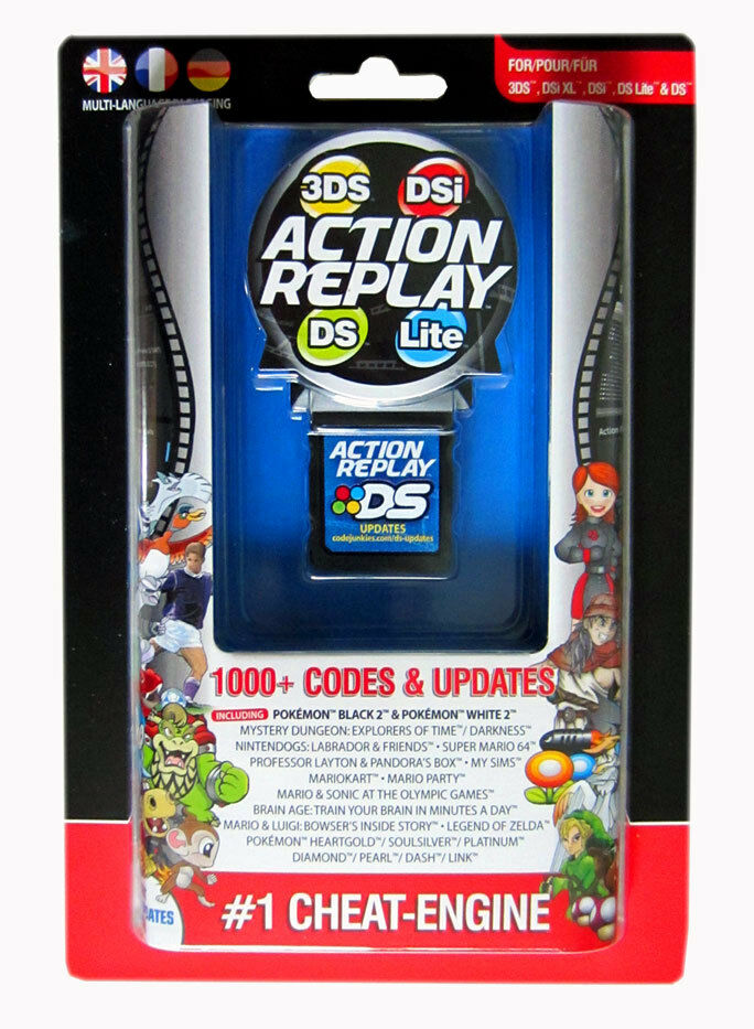 Amazon.com: Action Replay DSi: Datel: Video Games
