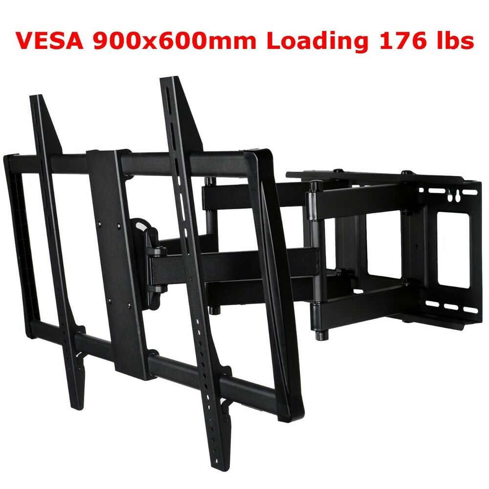 full motion tilt tv wall mount for sony sharp 60 65 70 75 lcd led plasma mp7 ebay. Black Bedroom Furniture Sets. Home Design Ideas