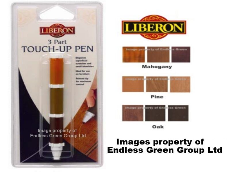 Liberon 3 Part Touch Up Pen Repair Minor Scratches On