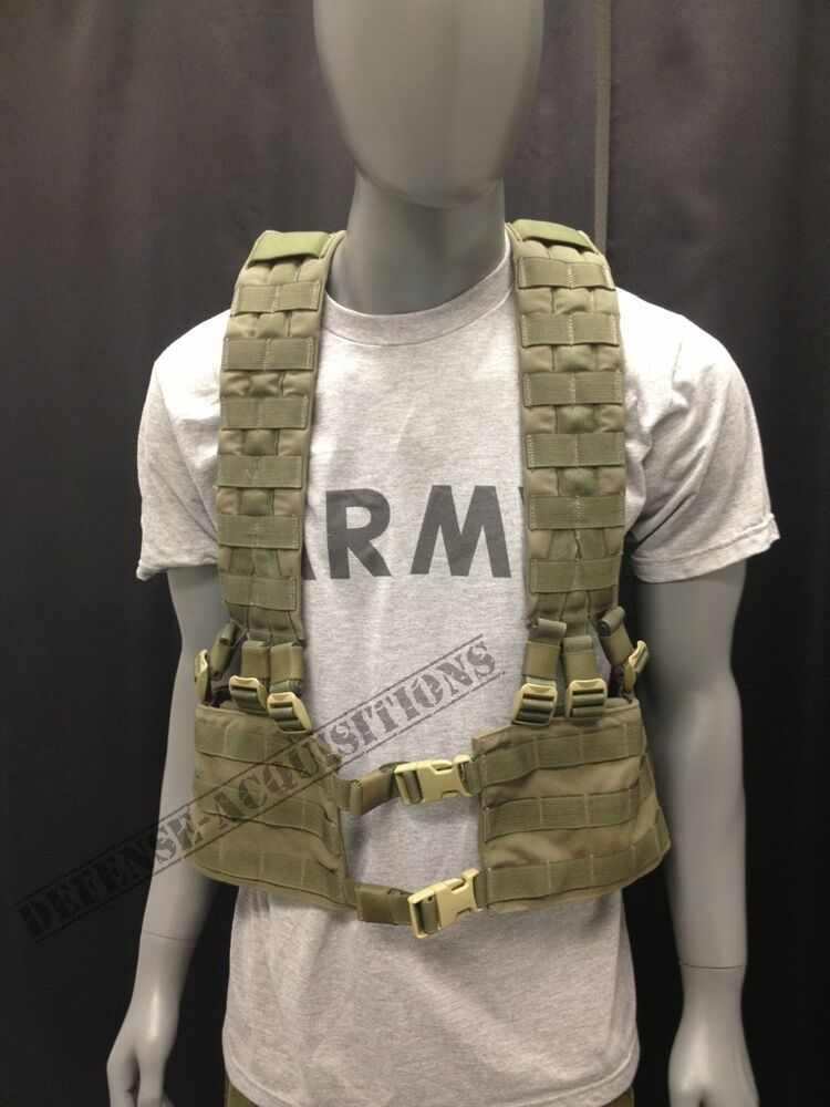 EAGLE INDUSTRIES ALLIED INDUSTRIES RLCS H HARNESS RIG RANGER GREEN