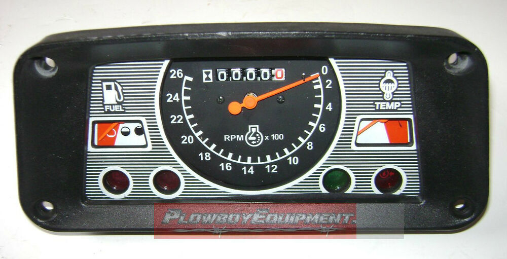 3000 Ford Tractor Instrument Cluster : Ehpn a c nn l gauge tach cluster for ford
