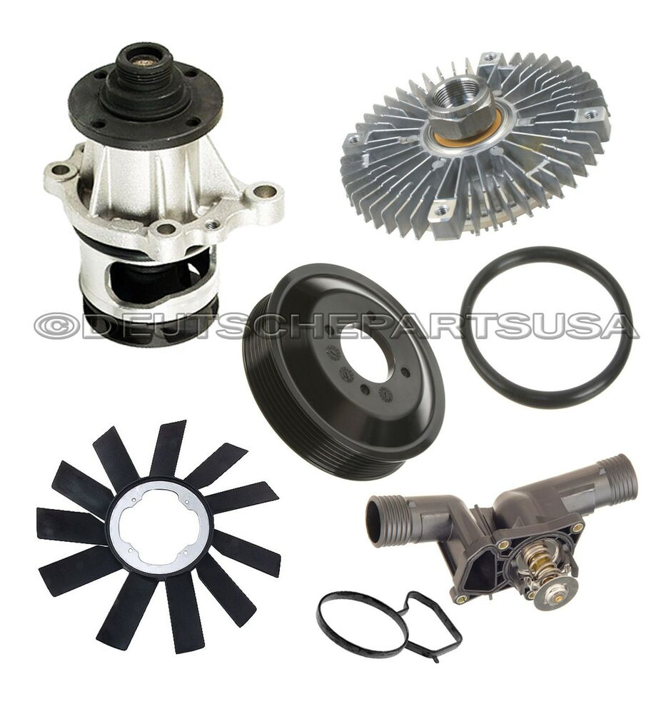 Water Pump   Pulley   Fan Clutch   Blade   Thermostat