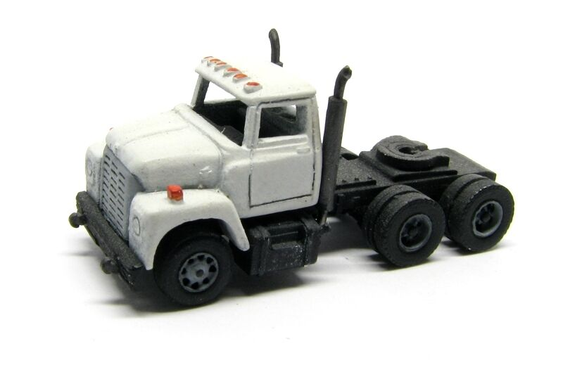 Athearn N Scale 3 Axle Tractor : N scale axle truck tractor i type cab kit by showcase