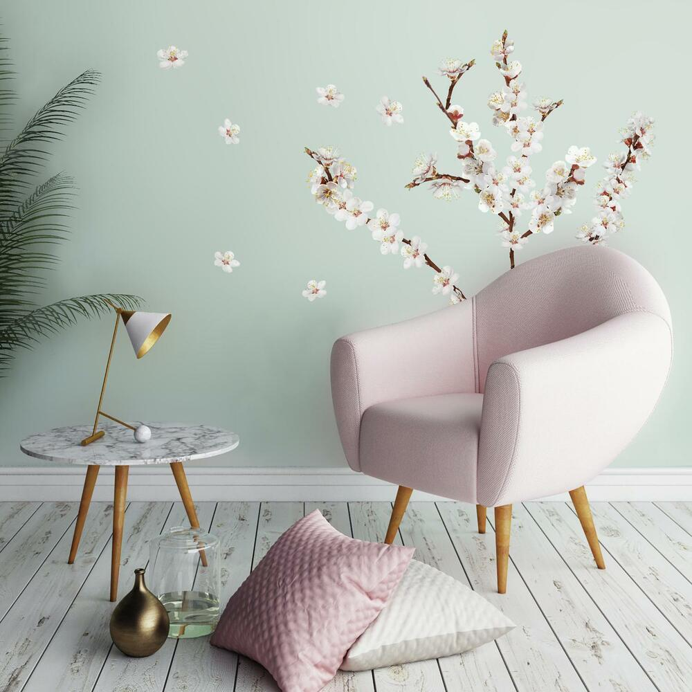 26 New Dogwood Flowers Wall Decals Tree Branches Room