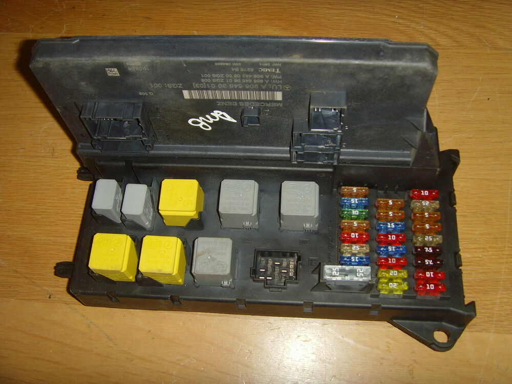 mercedes sprinter sam module fuse box a9069004700 ebay