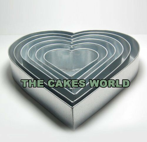 wedding cake baking pans 6 tier wedding cake baking tins cake pans 6 quot 8 quot 10 21974