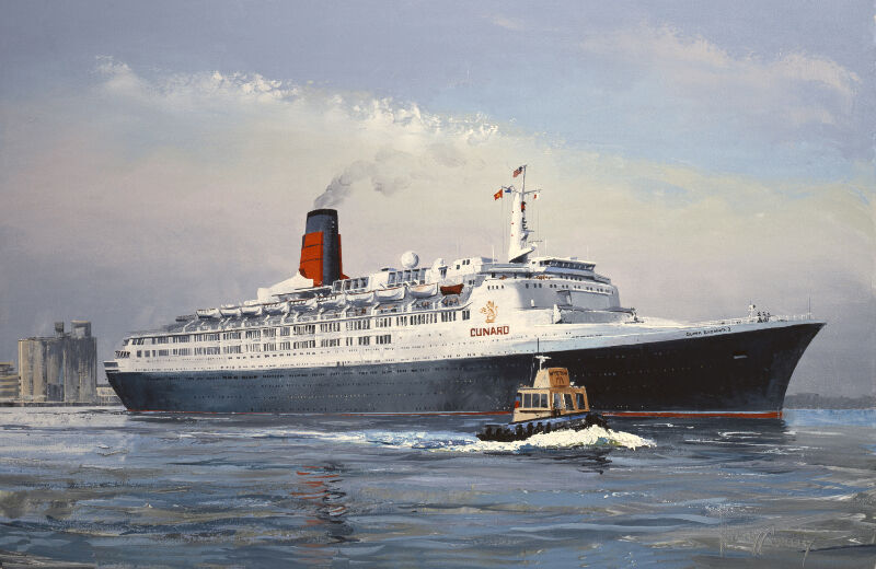 Ocean Liner Paintings For Sale