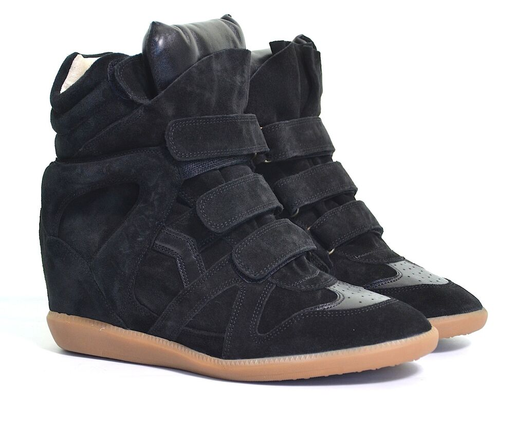 isabel marant bekett over basket velvet trainers sneakers eu 37 uk 4 us 7 bnwt ebay. Black Bedroom Furniture Sets. Home Design Ideas