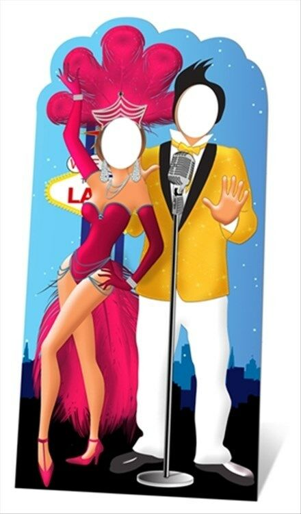 las vegas standin cardboard cutout great for photo ops Casino Graphics Clip Art free clipart for casino night