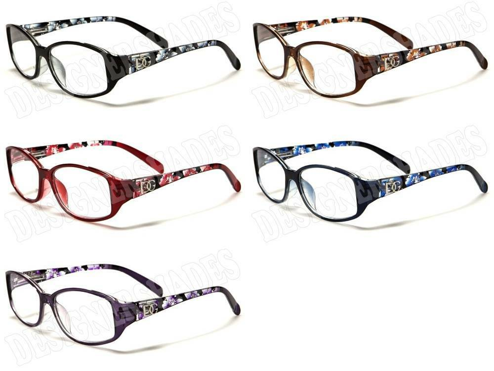 dg eyewear 174 designer reading glasses womens flowers