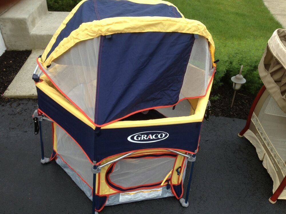 Graco Pack And Play Sport Play Yard Playpen W Detachable