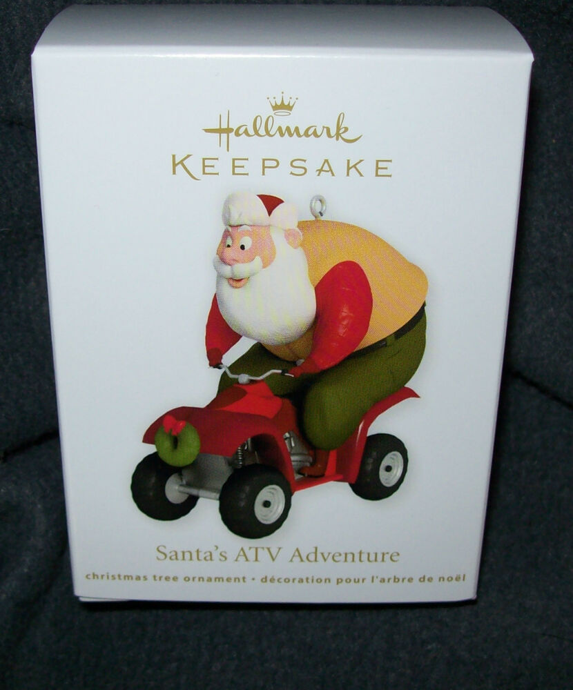 2012 Hallmark KEEPSAKE CHRISTMAS Ornament NEW IN BOX Santa ...
