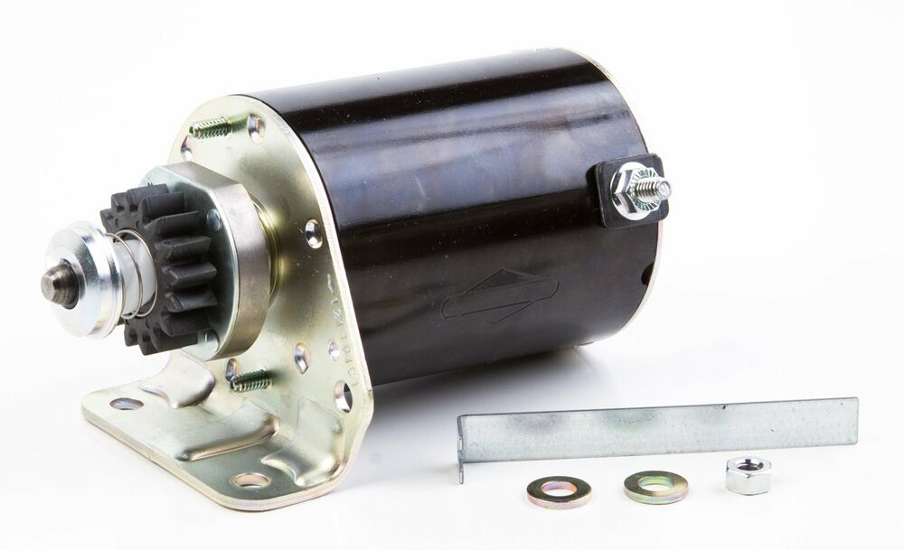 Electric starter motor for briggs stratton 497595 ebay for Used electric motors portland oregon