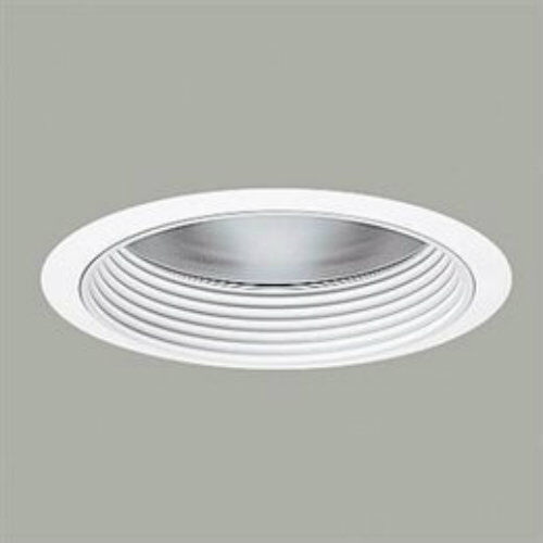 Recessed lighting coilex baffle : Halo wwb ceiling recessed lighting quot cfl baffle trim