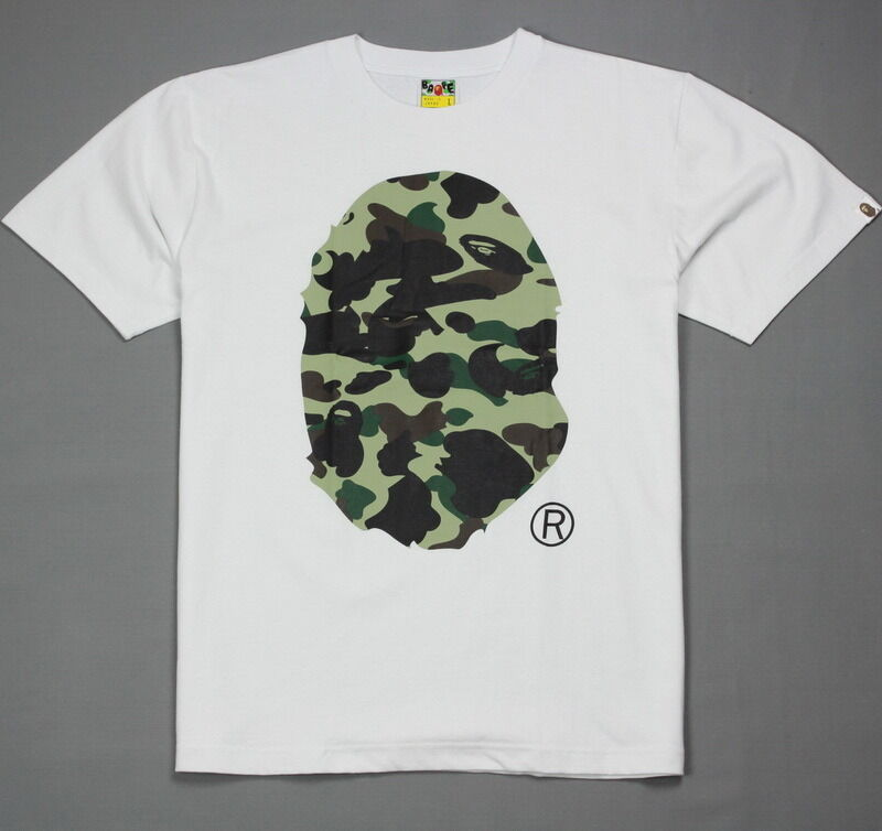 New Bape T Shirt A Bathing Ape Tee Baby Milo Ape Head Camo