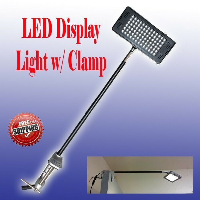 Exhibition Display Lighting : Led display light booth panel trade show w clamp