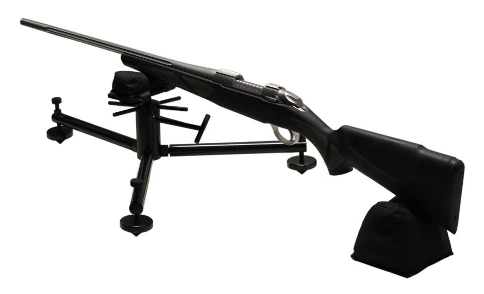 New Max Target Bench Rest With Front Rear Bag Benchrest Rifle Shooting Gun Ebay