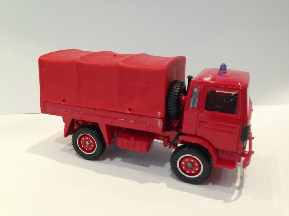 Toy Model Trucks : Vintage solido toy truck car fire engine army renault