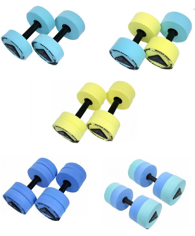 Water Gear Resistance Bells Pool Workout Dumbbell Fitness Swim Exercies Aquafit Ebay