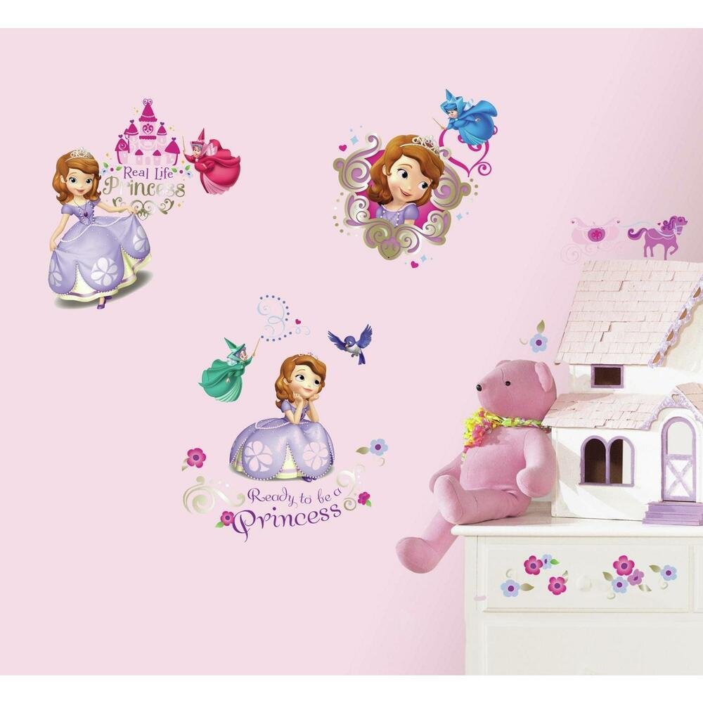 New Sofia The First Wall Decals Disney Princess Stickers