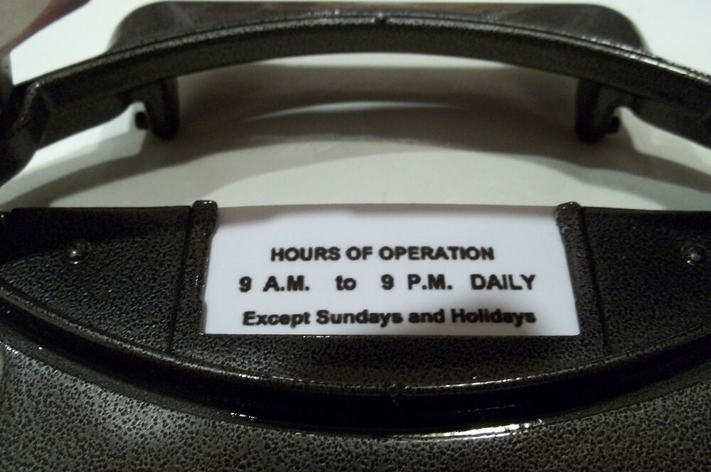 Hour Meter Operation : Duncan parking meter hours of operation quanity
