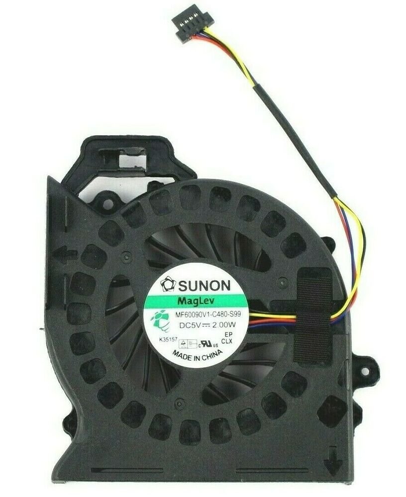 Computer Cooling Fans : New sunon maglev w cpu fan for hp pavilion dv