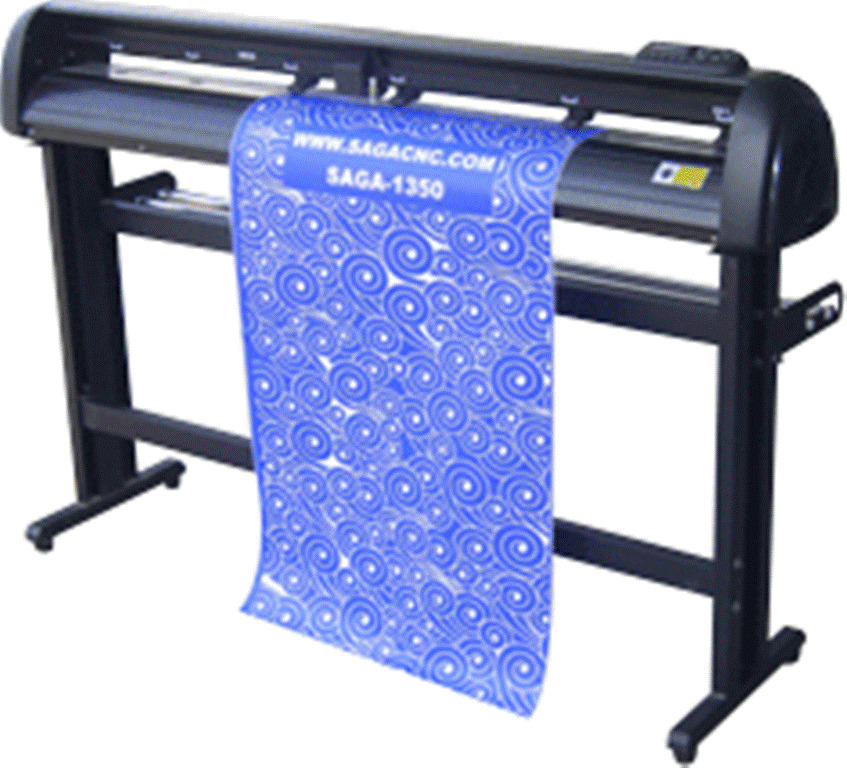 vinyl cutter sticker plotter decal sign machine saga procut 4800csn contour1350i ebay. Black Bedroom Furniture Sets. Home Design Ideas