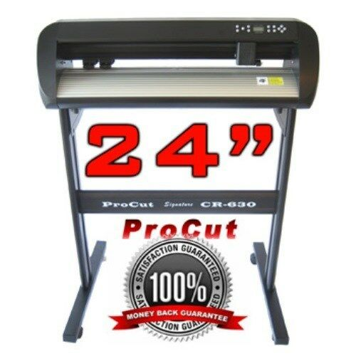 vinyl cutter sticker plotter decal sign machine creation procut cr0630vsr ebay. Black Bedroom Furniture Sets. Home Design Ideas