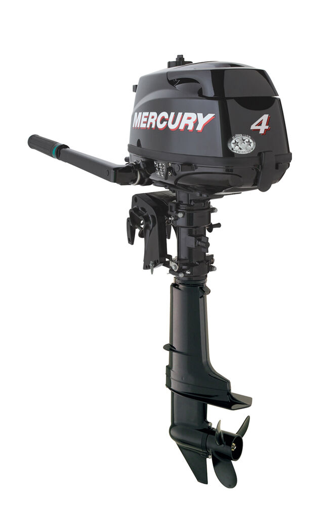 New Mercury Mariner 4 Hp Four Stroke Outboard Engine Motor