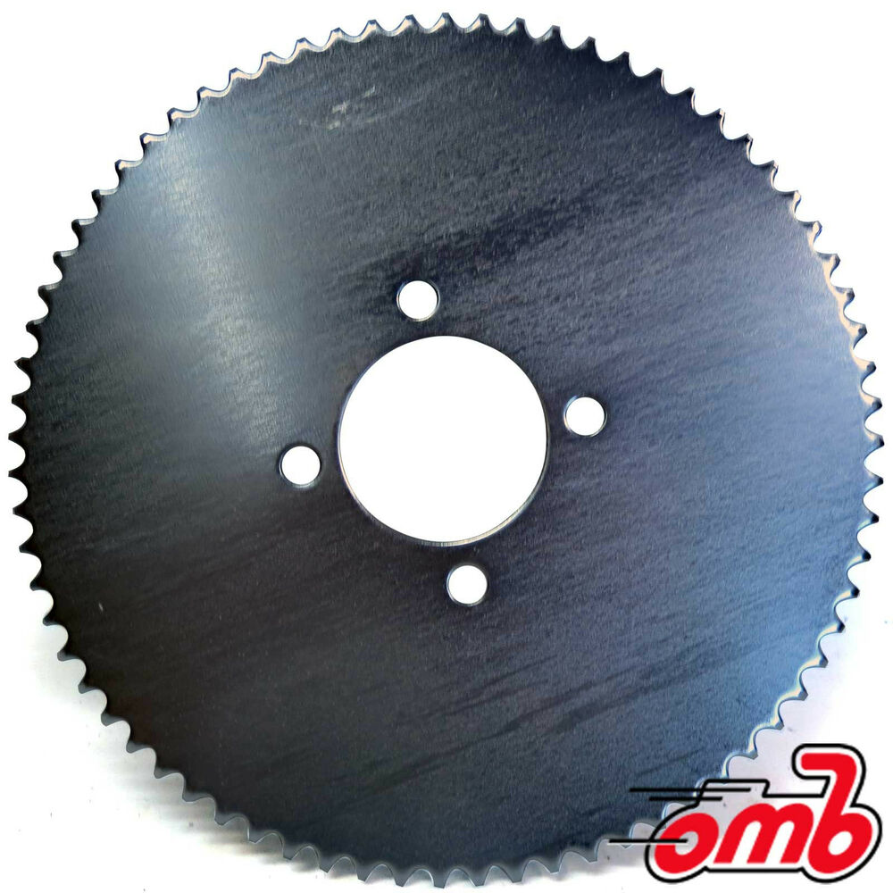 Go Kart Sprockets And Chains : Tooth rear wheel sprocket universal mini bike go