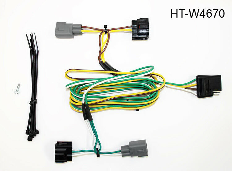 Trailer Wiring Harness For Dodge Dakota : Hitch wiring connector ht w for  dodge ram