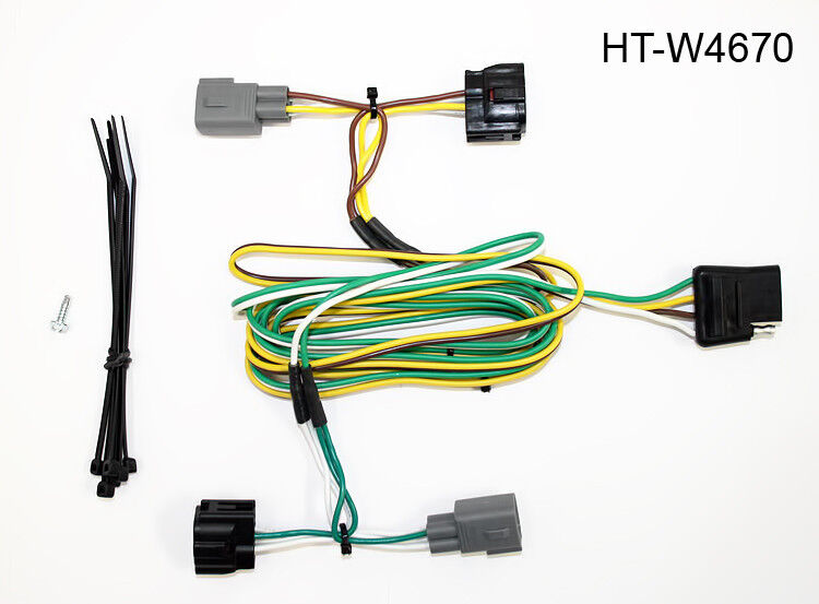 hitch wiring connector ht w4670 for 1995 2002 dodge ram. Black Bedroom Furniture Sets. Home Design Ideas