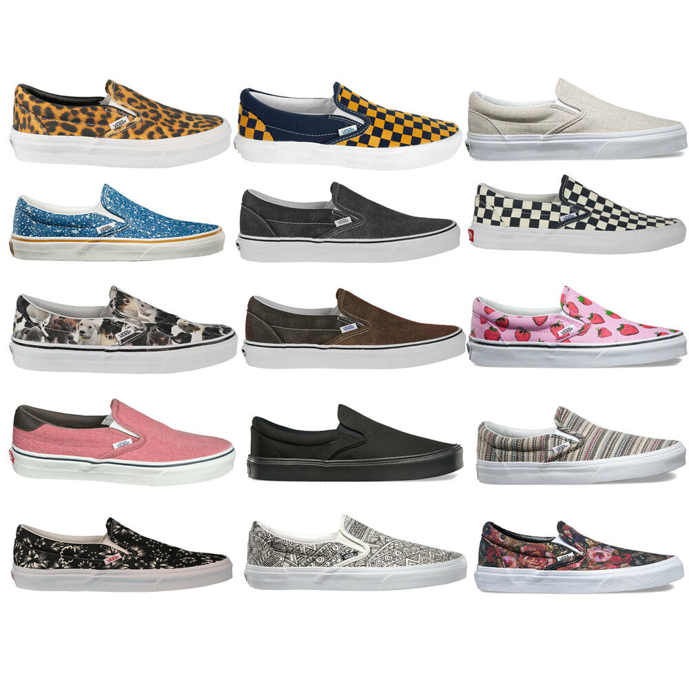 vans classic slip on damen sneaker slipper freizeitschuhe. Black Bedroom Furniture Sets. Home Design Ideas