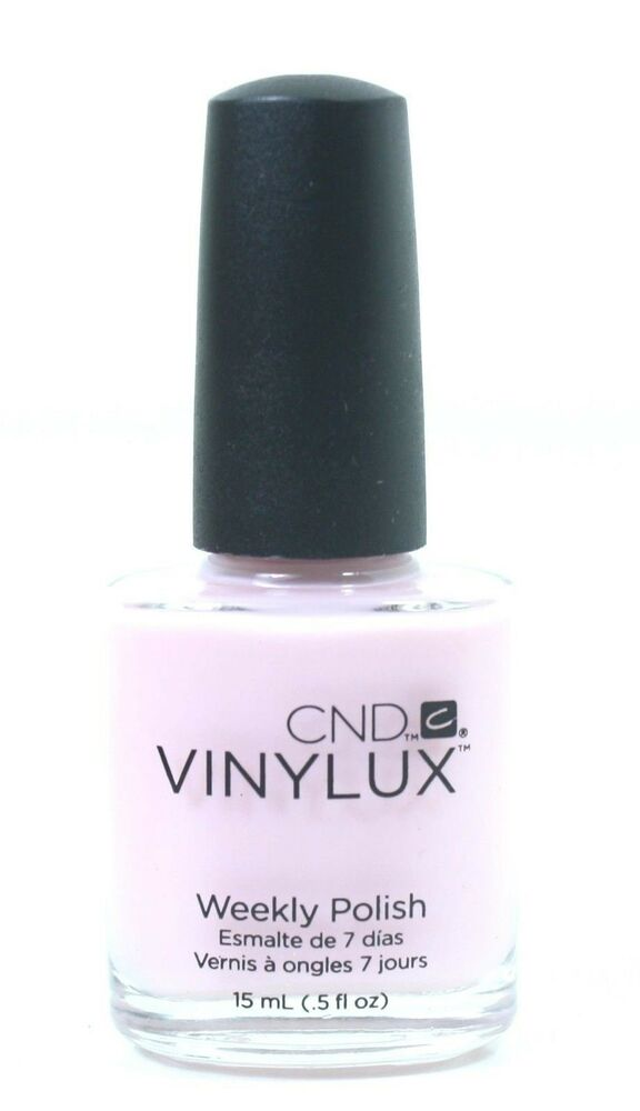 Cnd Vinylux Lacquer Nail Polish Negligee 132 15 Ml 5