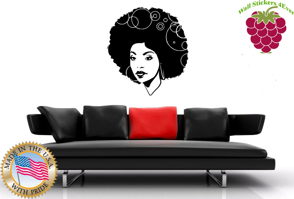 wall stickers vinyl decal black sexy hot gorgeous african