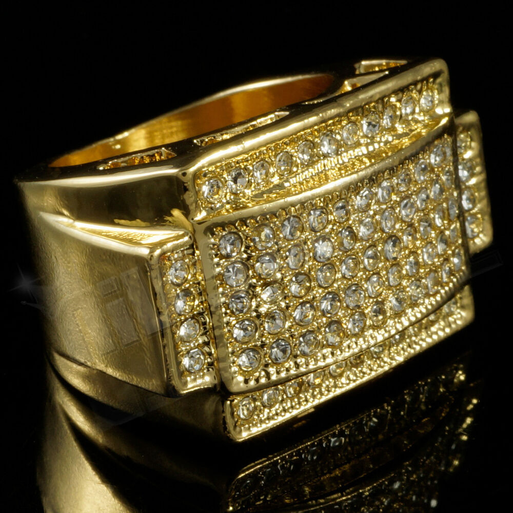 Platinum And K Gold Ring