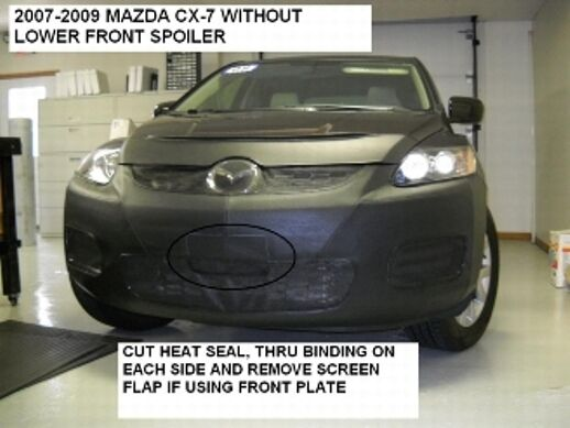 Lebra Front End Mask Cover Bra Fits Mazda Cx 7 2007 2009