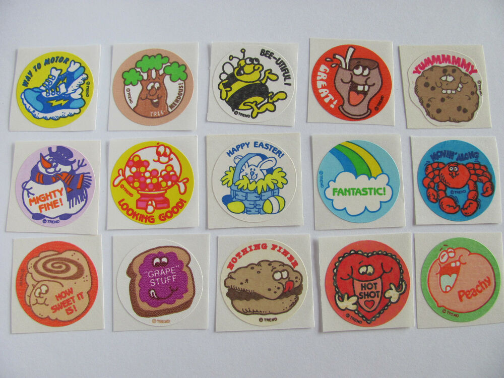 scratch and sniff stickers - etsycom