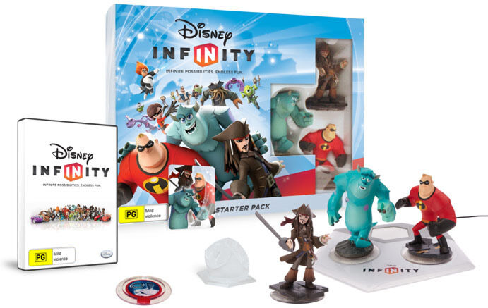 Disney Infinity Starter Pack Wii PAL *BRAND NEW ...