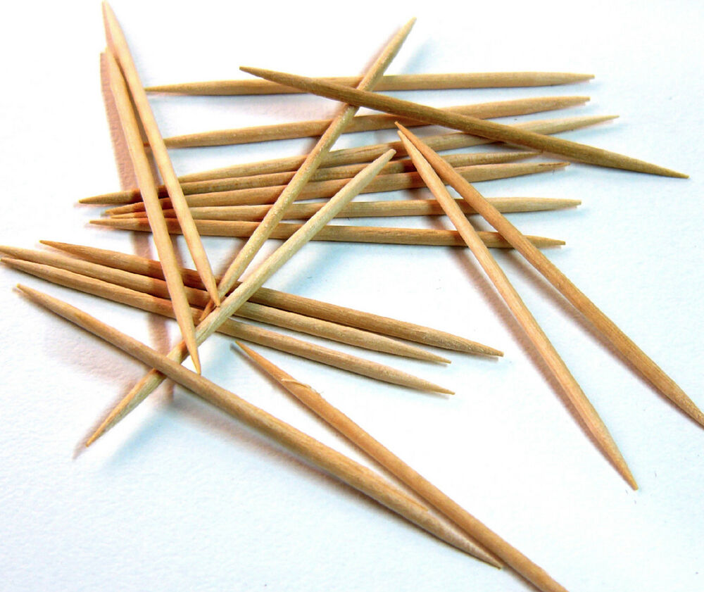Wooden cocktail sticks toothpicks tooth picks cherry olive for Canape cocktail sticks
