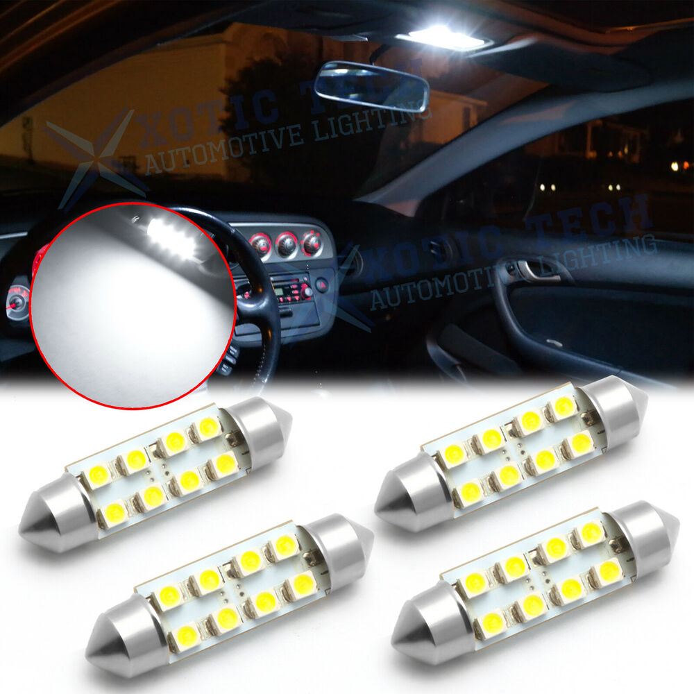 4 x led full interior lights package for 05 08 dodge - Dodge magnum interior accessories ...