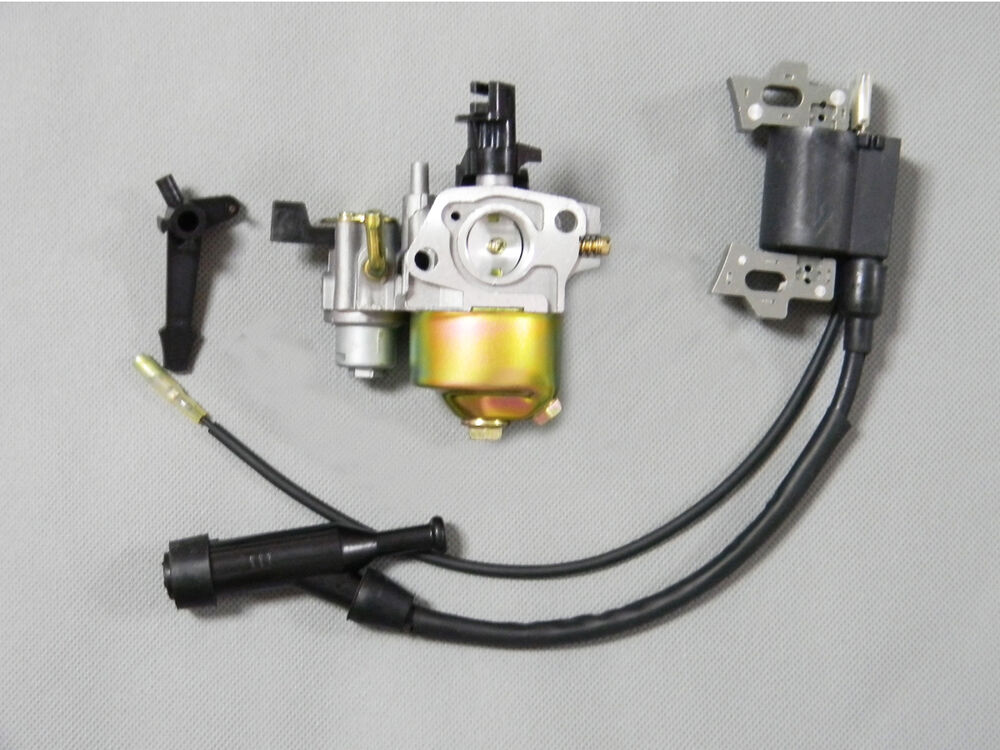 New Fuel Line +Ignition Coil + Carburetor Carb Fits HONDA ...