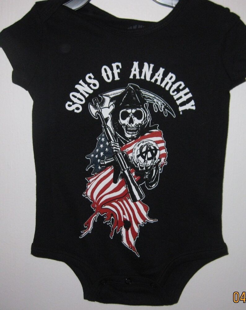 sons of anarchy reaper logo toddler jumper officially. Black Bedroom Furniture Sets. Home Design Ideas