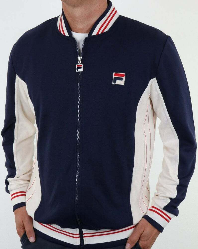 80s Vintage Clothing In The Uk Just Got Easier: Mk1 Settanta Track Top In Navy / Borg BJ