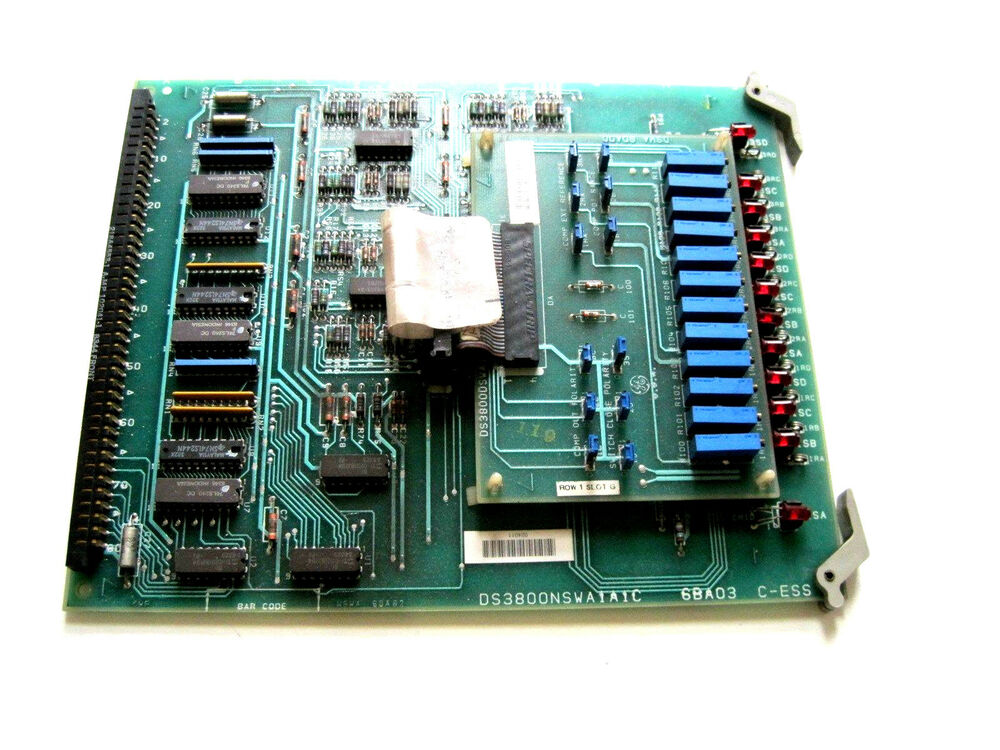General electric ds3800nswa1a1c board with ds3800dswa1a1a for Ge motors industrial systems
