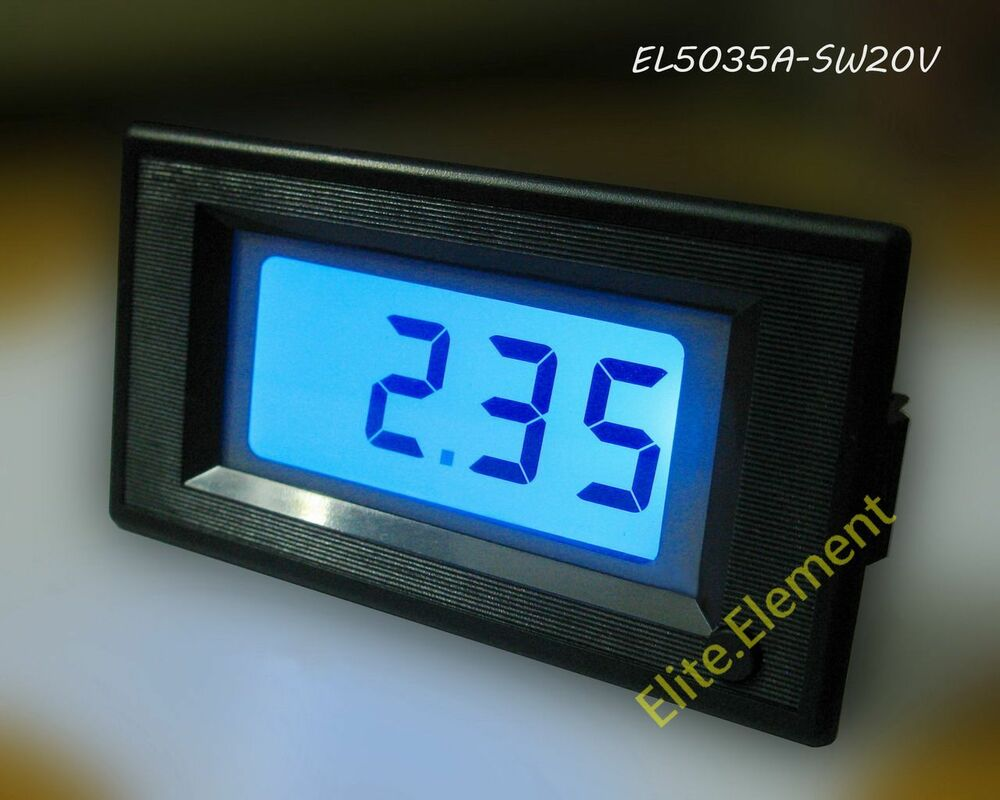 Battery Voltage Monitor : Dc v car battery level voltage monitor meter