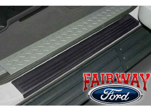 2009 thru 2014 f 150 oem genuine ford door sill scuff plate protectors 2pc kit ebay. Black Bedroom Furniture Sets. Home Design Ideas
